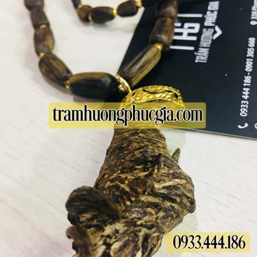 Chuổi trầm hương đeo cổ cao cấp
